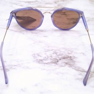 Accessories - Blue Mirrored Sunglasses